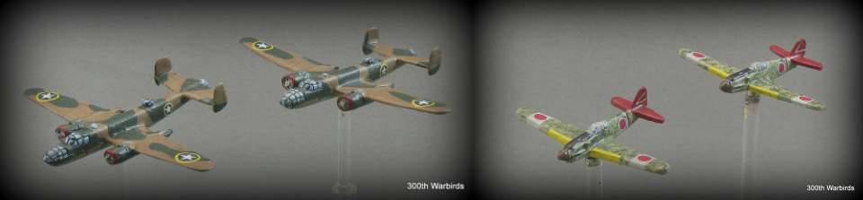 Trees for 1/72 wargaming - 1300th Warbirds